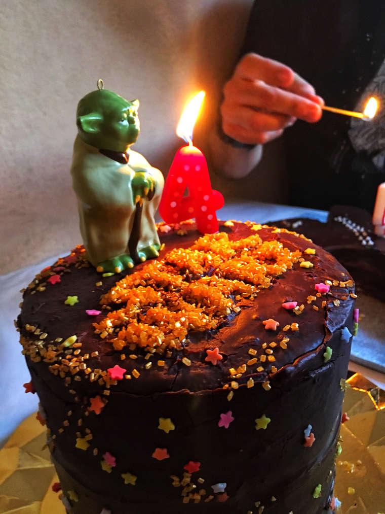 Encendiendo las velas