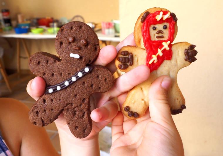 Galletas Chewbacca y Ewok