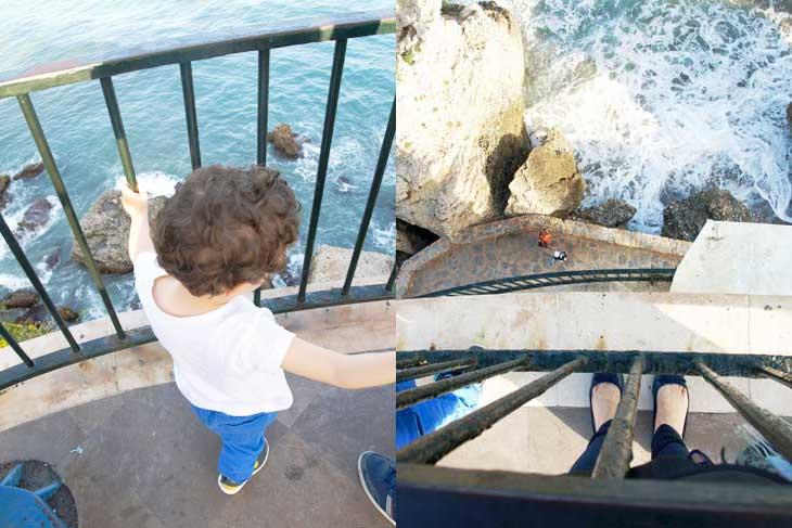 Vistas al mar en Nerja