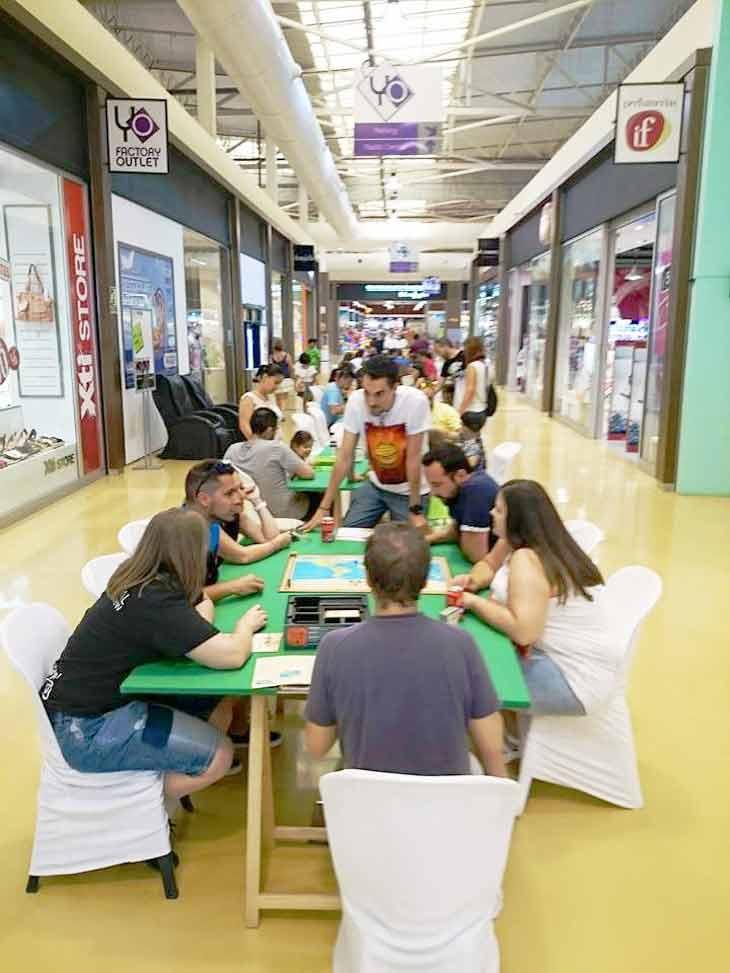 Zona lúdica de Juegos de mesa