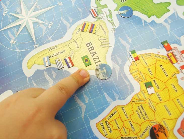 Señalando las Olimpiadas de Brasil