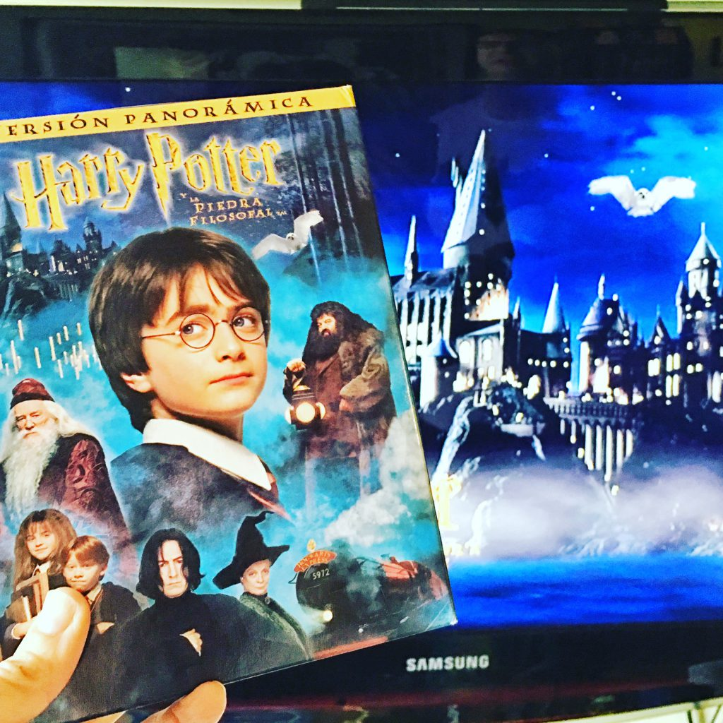 VIENDO HARRY POTTER