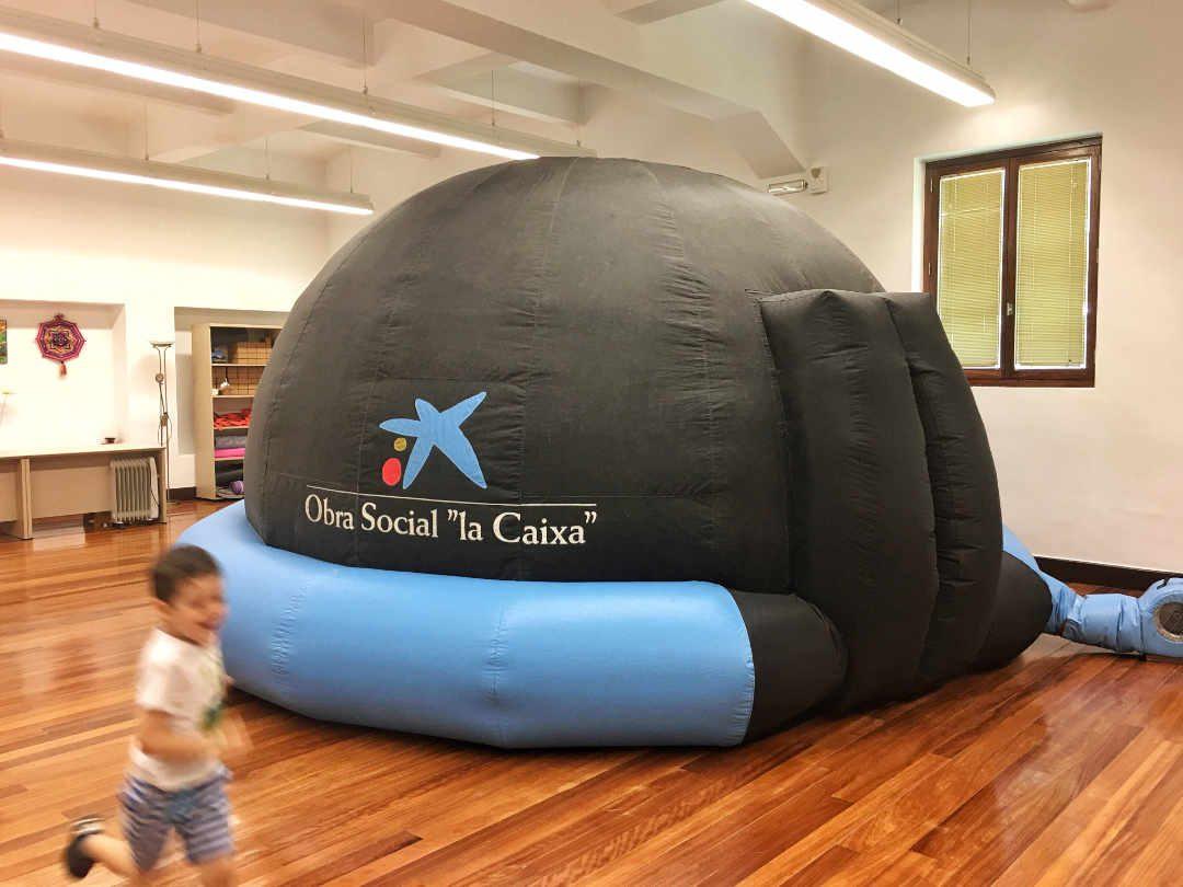 Imualandia Planetario Móvil Descubriendo El Firmamento Y El Mundo Microscópico Imualandia