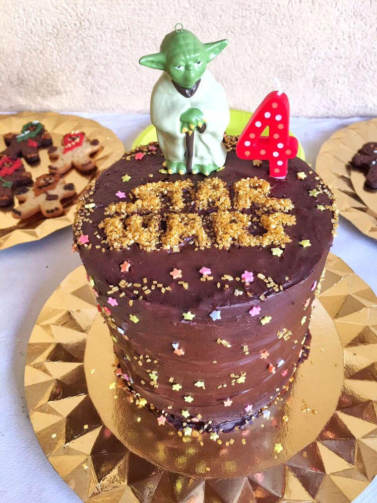 Tarta Star Wars Yoda